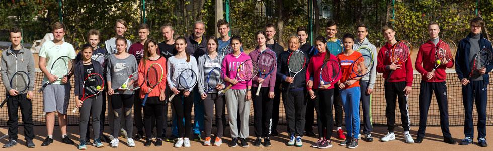 Секція тенісу кафедри фізичного виховання ФБМІ