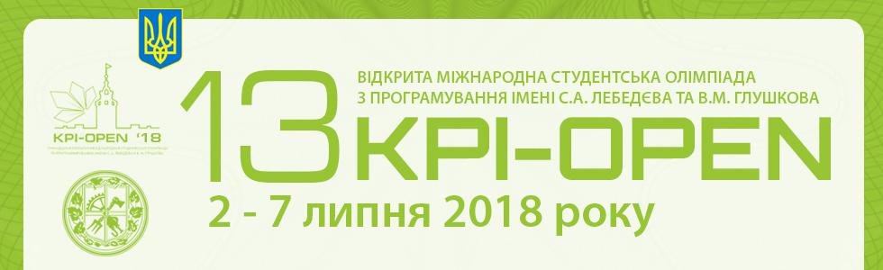 KPI-OPEN 2018