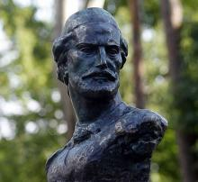 Кампус КПІ. Пам'ятник Петару Нєгошу