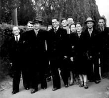 КПІ - 1956. Співробітники кафедри вищої математики і теоретичної механіки