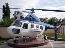 Кампус. Вертоліт Мі-2 в музеї техніки під відкритим небом