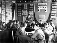 1950-ті. Підготовка офіцерів запасу на військовій кафедрі