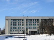 Кампус КПІ. 27 корпус взимку