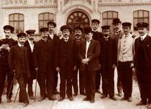 1900-ті. Професорський склад КПІ