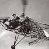 Сікорський І.І. на гелікоптері VS-300, 1941 рік