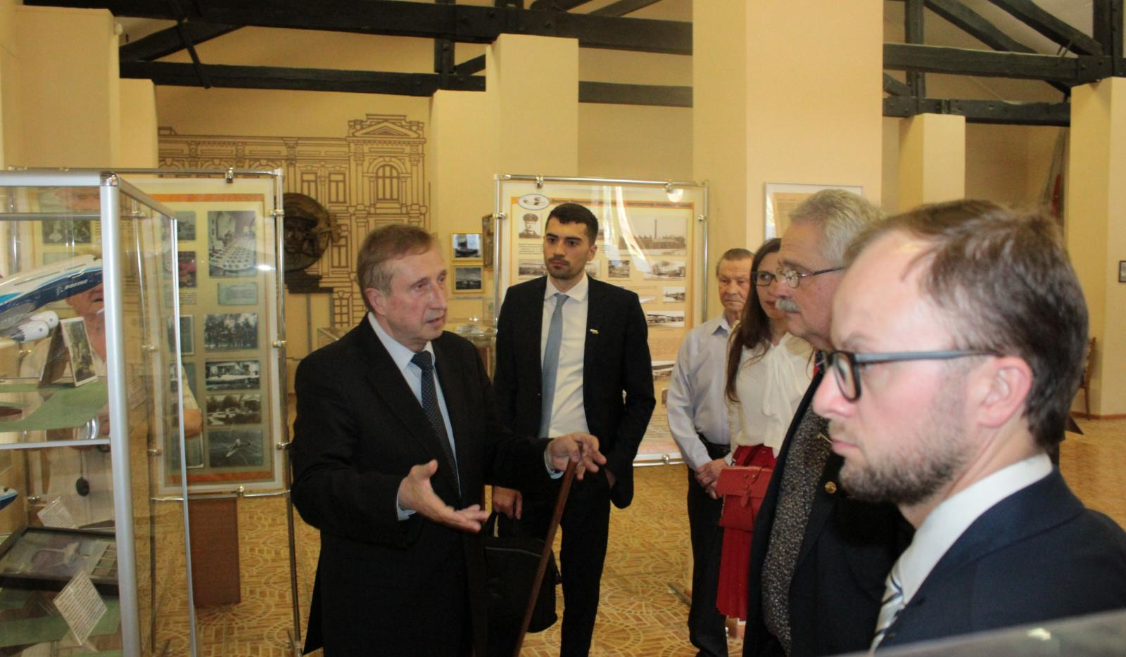 """2019.05.27 Visit of the delegation of """"Airbus Helicopters"""" company"""