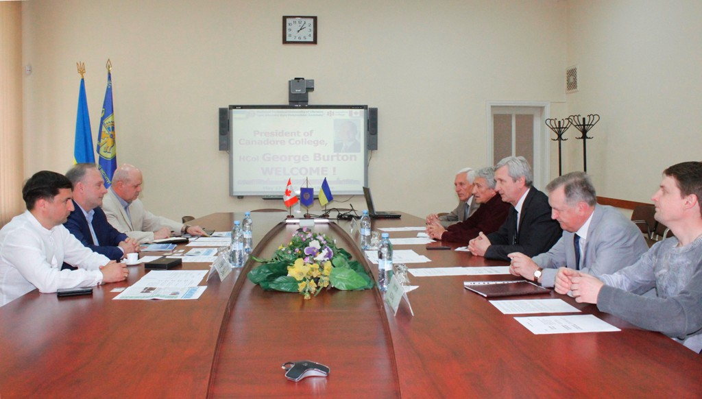 Meeting With The Representatives Of Canadore College Igor Sikorsky Kyiv Polytechnic Institute