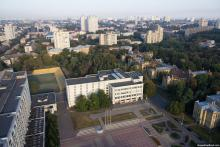 Кампус КПІ. Площа знань, Бібліотека, Мале спортивне ядро