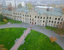 Кампус КПІ, 1 корпус, фото з дрону