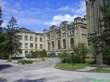 Кампус КПІ, Корпус № 1, зворотня сторона