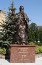 Кампус КПИ. Пам'ятник Конфуцію