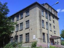 Кампус КПІ. 11 корпус університету влітку