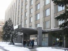 Кампус КПІ. 22 корпус взимку