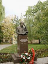 Кампус КПІ. Пам'ятник Челомею Володимиру Миколайовичу