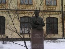 Кампус КПІ. Пам'ятник Сергію Лебедєву