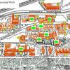Кампус КПІ. Зони покриття «відкритої» безпроводової мережі на території університету